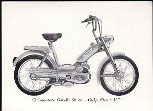 Ciclomotore Garelli Gulp Flex 50 cc. M - Libretto di Istruzione 1969 Originale