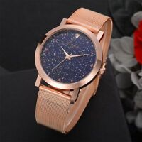 Quartz Mesh Strap Ultra Star Watches Wrist Watch Wristwatches Starry Sky