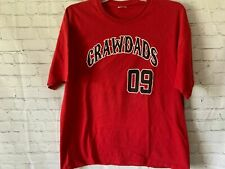 Hickory Crawdads Promotional T Shirt Size XL