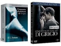 50 SFUMATURE DI GRIGIO (DVD + LIBRO) Versione Cinema + Estesa