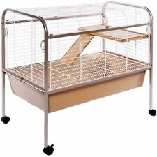 Prevue Pet Products Small Animal Cage with Stand Coco Sturdy Design with Panels
