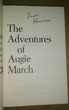 ADVENTURES OF AUGIE MARCH Saul Bellow SIGNED 1st Modern Library ed 1965 HC/DJ