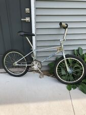 "81/82 Schwinn Predator Cromo BMX Bike Old School Survivor Chrome Vtg 20"" 1980s"