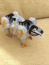 Power rangers mighty morphin DX white crystal samurai megazord