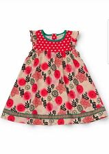 Matilda Jane Girls Size 12 Make Believe Glad Tidings Dress NWT In Bag Christmas