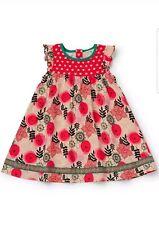 Matilda Jane Girls Size 4 Make Believe Glad Tidings Dress NWT Red Christmas