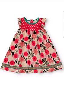 Matilda Jane Girls Size 6 Make Believe Glad Tidings Dress NWT In Bag Christmas