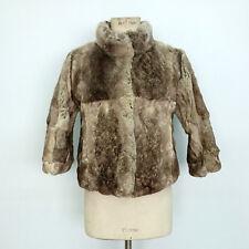 b4dcbe4b947f96 Cappotti e giacche da donna multicolore in pelliccia taglia 42 ...
