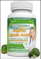 Alpha-Lipoic Acid by Dr. Danielle, Neuropathy Support R-ALA,120 Veggie Caps