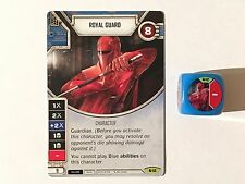 Star Wars: Destiny Spirit of Rebellion - Rare Royal Guard #012