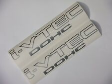 DOHC I-VTEC DECAL jdm k20 k24 civic rsx tsx accord crv element type r si ex lx