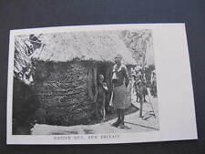 Native Hut New Britain PNG Postcard Papua