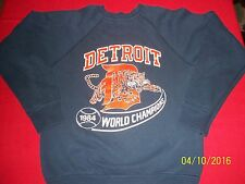 VTG 1984 Detroit Tigers World Champions Youth Large sweatshirt *Very Rare*