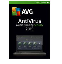 AVG AntiVirus 2015 (1-PC, 2-Year Subscription) WINDOWS  Boxed