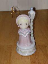 Precious Moments Enesco 1997 Winter Wonderland Christmas Ornament girl caroler