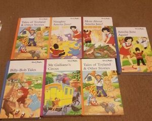 ENID BLYTON books x 7