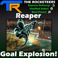 [PS4/PSN] Rocket League Reaper Import Haunted Hallows Goal Explosion Cheapest
