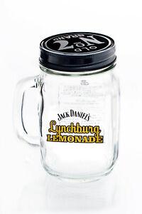 "Jack Daniels Whisky, Lynchburg Lemonade Krug mit Deckel ""gelbes Logo"""