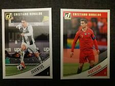 2018 Cristiano Ronaldo FC Juventus And Portugal Panini Donruss Cards set of 2