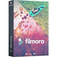 Wondershare Filmora Video Editor MAC lifetime Vollversion ESD Download !
