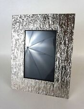 Michael Aram picture frame Silver 7 X 9.5 distressed 4 X 6 Picture *1024