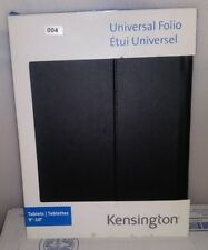 "NEW KENSINGTON UNIVERSAL FOLIO MULTI POSITION STAND FOR 9""-10"" TABLETS BLACK G-9"