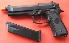 Full Metal Green Gas Blowback Airsoft Gun Beretta M9, M92F Style up to 360 FPS