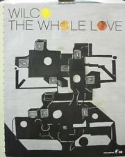 "WILCO 2011 THE WHOLE LOVE ""COVER"" PROMOTIONAL POSTER New old stock Flawless"