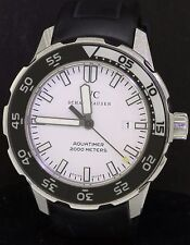 IWC Aquatimer Schaffhausen 2000m SS 46mm auto. men's watch w/ date & white dial