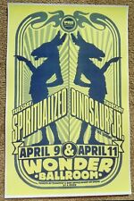 SPIRITUALIZED & DINOSAUR JR. 2013 Gig POSTER Portland Oregon Concert