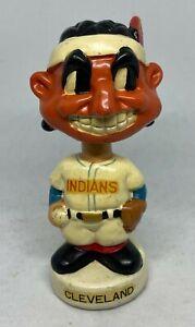 Vintage 1960 's Cleveland Indians MINI Bobblehead Nodder