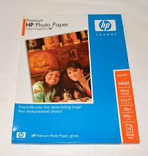 HP premium inkjet photo paper - 15 sheets