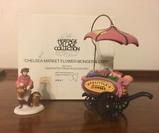 Dept 56 Heritage Village Chelsea Market Flower Monger and Cart 5815-7