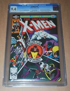 UNCANNY X-MEN # 139 CGC 9.4 Marvel Comics 1981 Certifié Guaranty Corporation