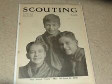 Boy Scout BSA West 10th ANN Article April 22, 1920 Scoutmaster Scouting Magazine