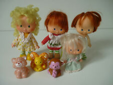 Lot Poupée Charlotte aux Fraises strawberry shortcake Vintage 80'S