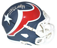 JJ Watt Autographed/Signed Houston Texans AMP Mini Helmet JSA 28986