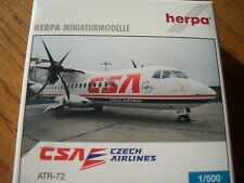 ATR-72 CSA OK-XFA Herpa 508063  rar AUSVERKAUFT !!! lim edition
