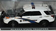 Alaska State Police Patrol Trooper First Response Ford Utility Interceptor 1:43