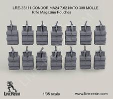 Live Resin 1/35 LRE-35111 CONDOR MA24 7.62 NATO 308 MOLLE Rifle Magazine Pouches