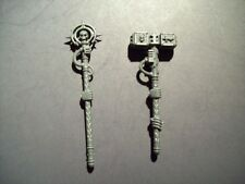 Space Marine Grey Knight Nemesis Deamon Hammer and Warding Stave bits