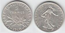 Gertbrolen 2 Francs Argent Type Semeuse 1910  Exemplaire N° 3