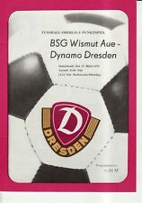 OL 78/79  Dynamo Dresden - BSG Wismut Aue