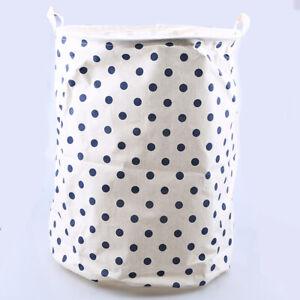 Foldable Laundry Basket Washing Basket Hamper Bin Dirty Clothes Storage