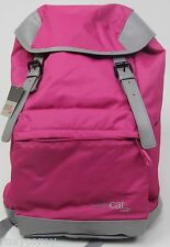 Puma ProCat Pink Gray Travel Bag BookBag Backpack 18x12x7 NWT