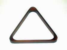 """POOL TABLE MAHOGANY TRIANGLE TO FIT 15 x STANDARD 2"""" (50.8mm) POOL BALLS"""
