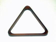 "Table de billard acajou Triangle pour s'adapter 15 X Standard 2"" (50.8 mm) Boules de billard"