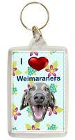 Weimaraner Keyring  Dog Key Ring Weimaraner Dog Gift Xmas Gift Stocking Filler