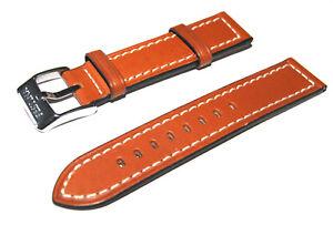 Bracelet de Montre festina marron brun Remplacement en Cuir 16-18-21-22-24 mm