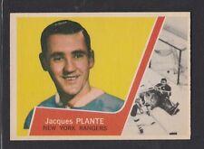 1963-64  TOPPS # 45  JACQUES  PLANTE NRMT ++ CONDITION  INV 2411